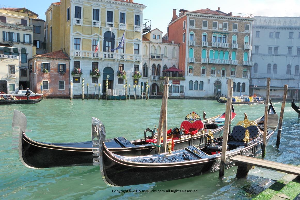 Venice Italy Grand Canal Campo Erberia
