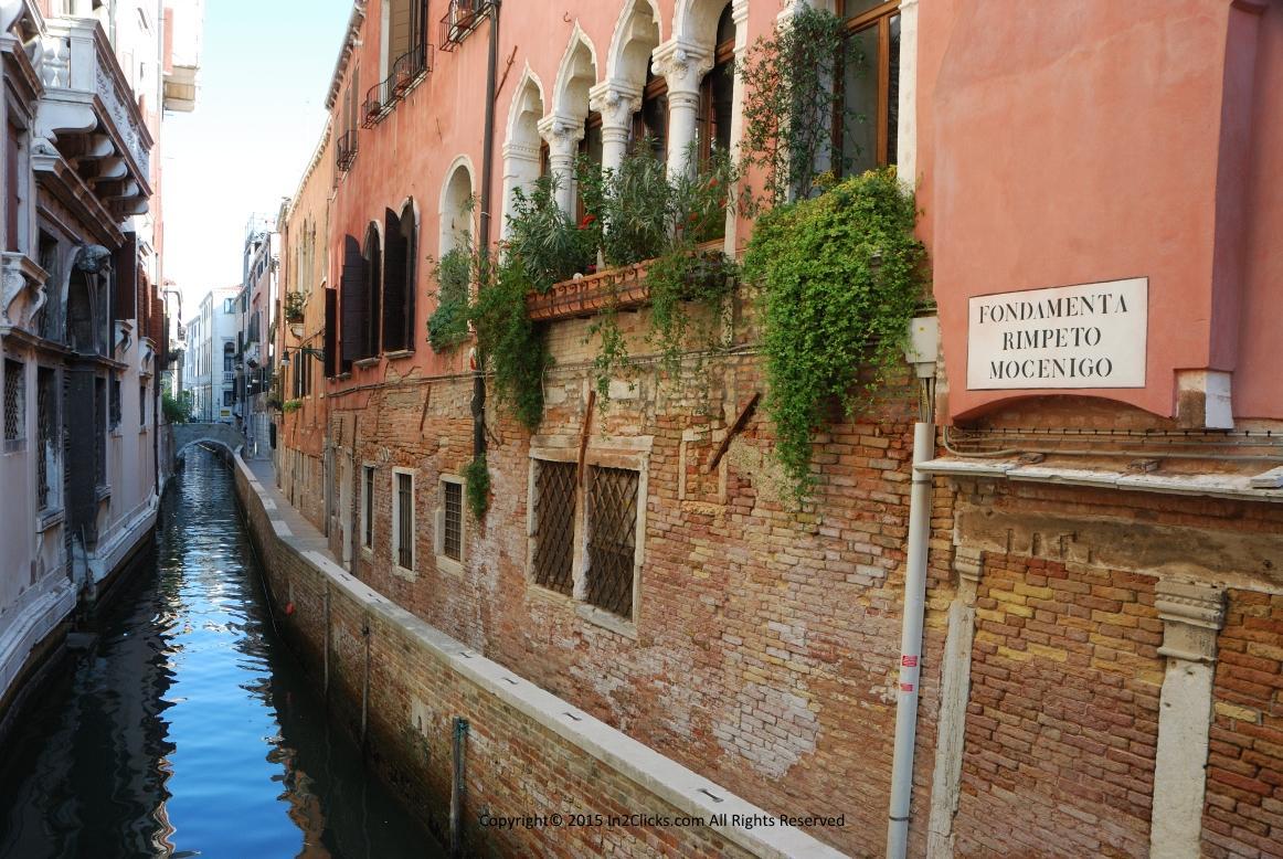 Venice Italy Fondamenta Rimpeto Mocenigo